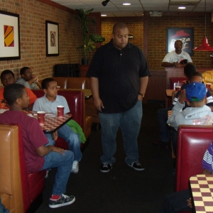 Lunch at Pizza Hut 2012